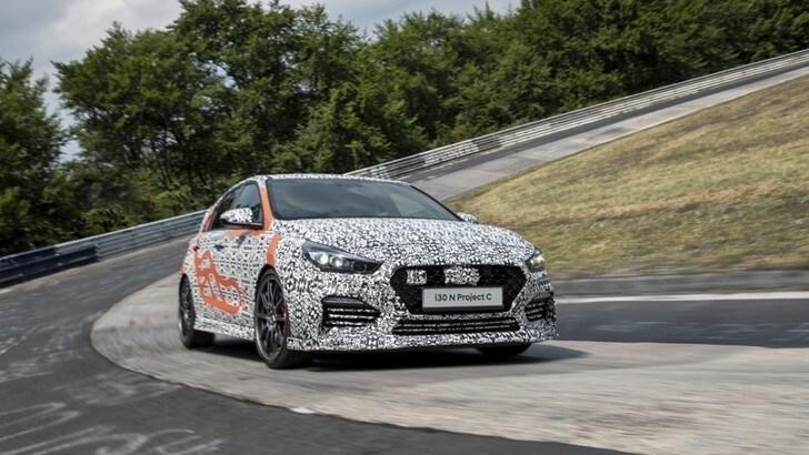Hyundai i30 N Project C, più leggera al Salone di Francoforte