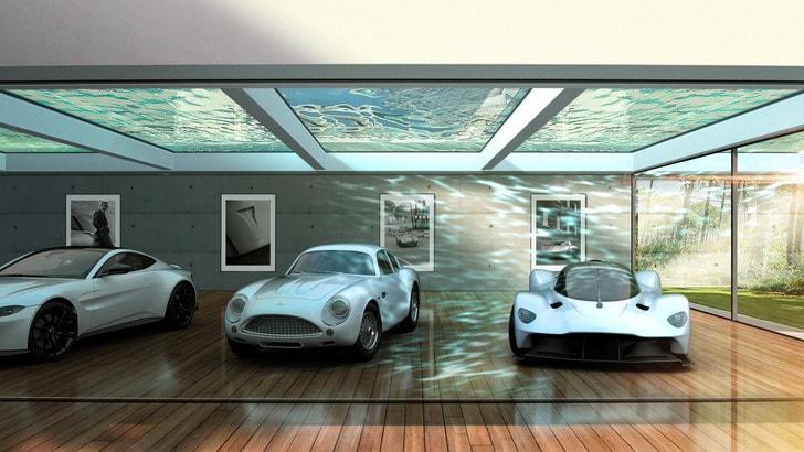 Aston Martin Automotive Galleries and Lairs: spazi esclusivi per le auto
