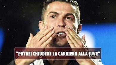 """Ronaldo: """"Champions non è ossessione. Potrei chiudere carriera alla Juve"""""""
