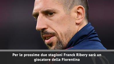Ufficiale, Ribery è della Fiorentina