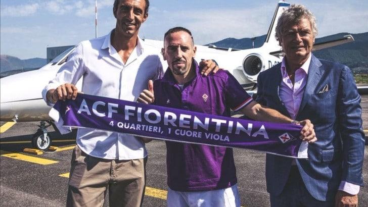 Ribery alla Fiorentina: è ufficiale
