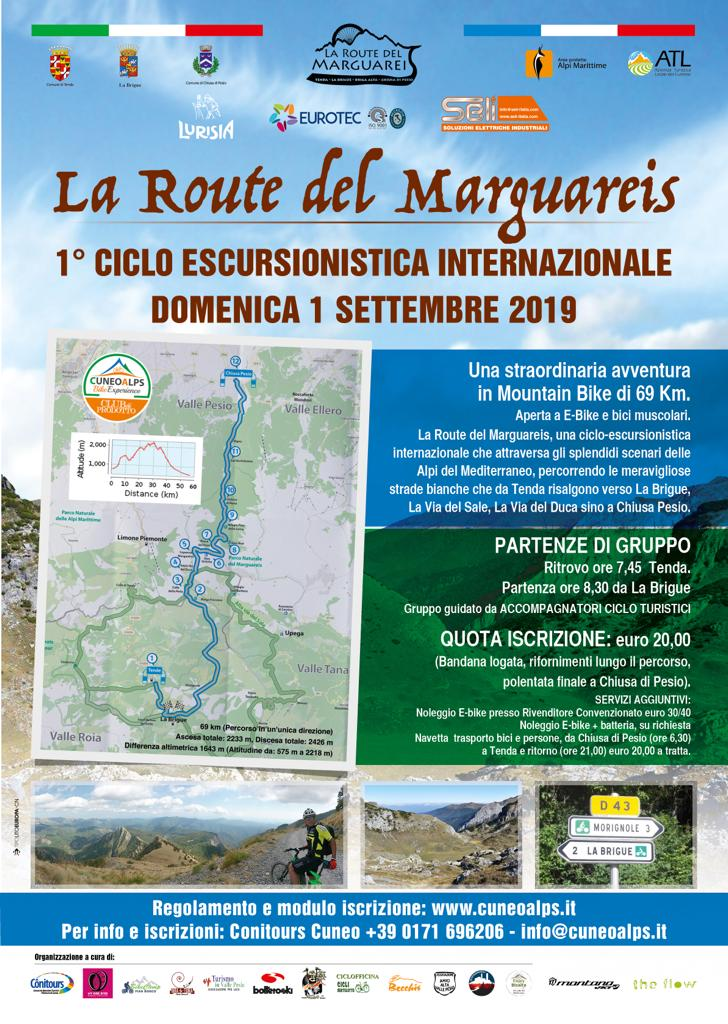 La Route del Marguareis, ciclo-escursionistica internazionale da Tenda a Chiusa Pesio