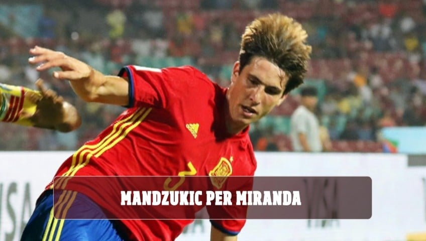 Mandzukic per Miranda: Juventus  e Barcellona al tavolo