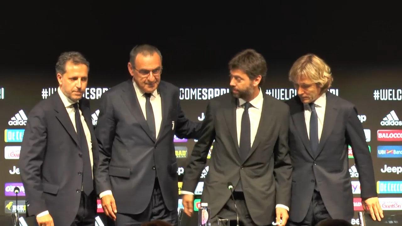 Juve, a Parma mancherà Sarri