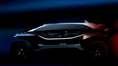 Audi AI:Trail quattro, si continua a guardare avanti