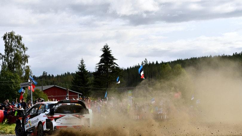 Rally, Germania: Tanak davanti, Ogier terzo dopo la prima giornata