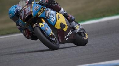 Moto2, Silverstone: pole per Alex Marquez, sesto Marini