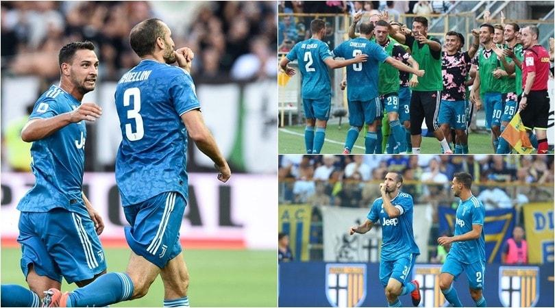 Chiellini regala tre punti alla Juve. La dedica è per la figlia