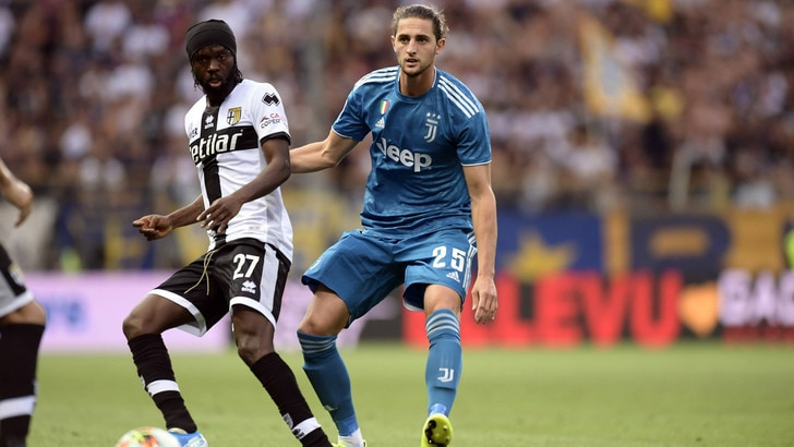 Parma-Juventus 0-1, il tabellino