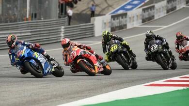 Gp Silverstone: Rins beffa Marquez e vince! Rossi 4°