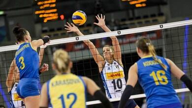 Europei Femminili: Italia seconda vittoria, battuta l'Ucraina