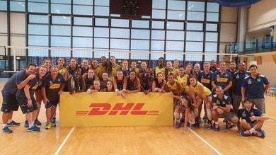 L'Under 18 Femminile supera il Brasile per 3-0