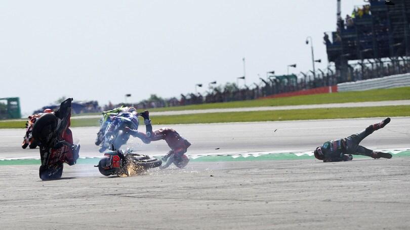 "Incidente Silverstone, Dovizioso ""sta bene ed è già a casa!"""