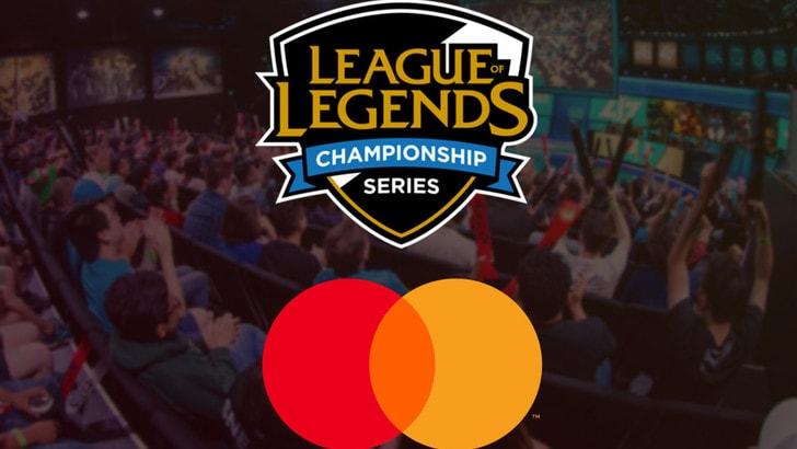 League of legends: Mastercard partner ufficiale delle LCS