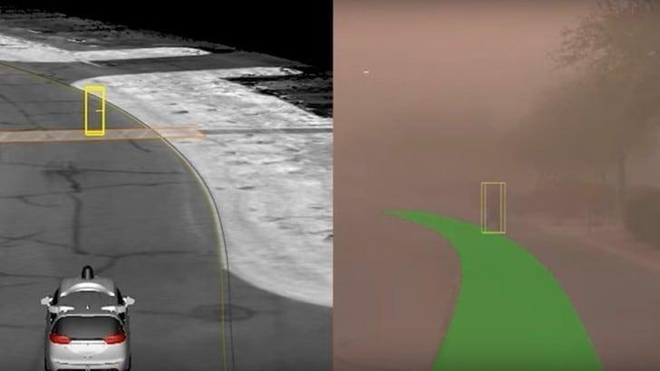 Waymo, continuano le prove per la guida autonoma IL VIDEO
