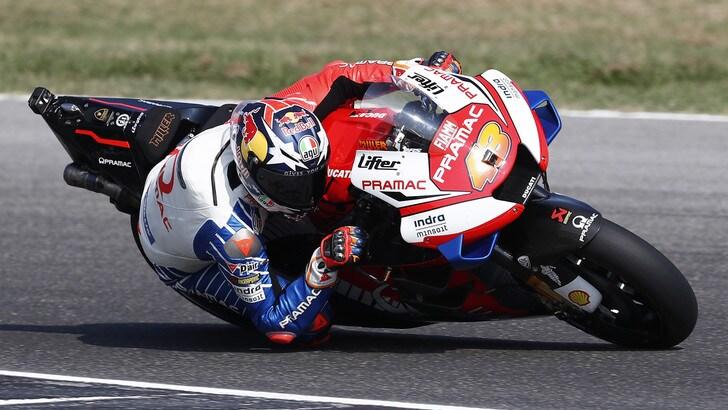 MotoGp test a Misano: Pramac show con Miller e Bagnaia, Rossi 13°