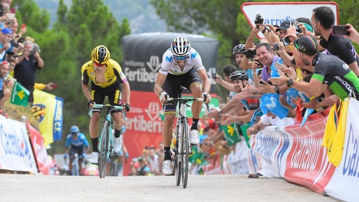 Vuelta, settima tappa a Valverde: Lopez di nuovo in rosso