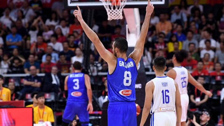 L'Italia parte bene ai Mondiali di basket: Filippine travolte 108-62