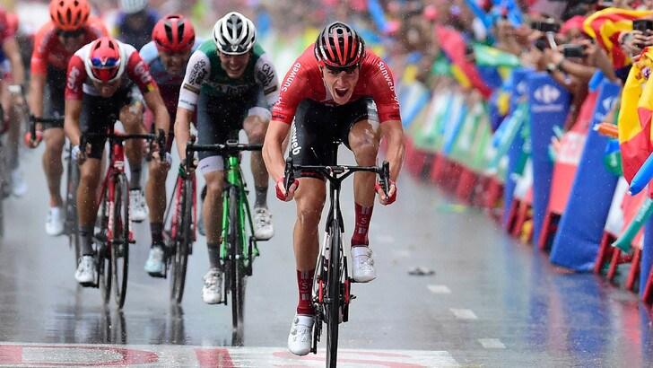 Vuelta: ad Arndt l'ottava tappa, Edet nuovo leader