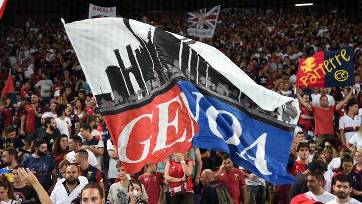 Genoa, tornano gli striscioni allo stadio