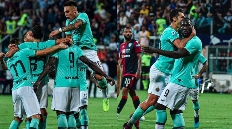 Festa Inter, vittoria a Cagliari e punteggio pieno