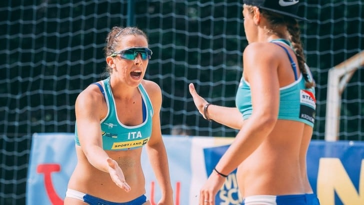 Rome Beach Volley Finals: Scampoli sostituisce Barboni