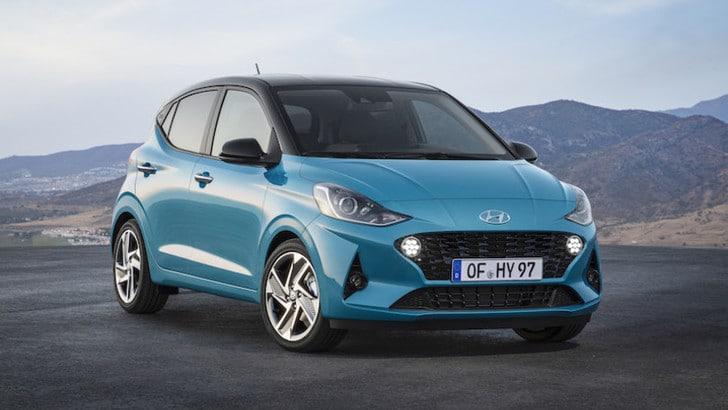 Nuova Hyundai i10, il debutto al Salone di Francoforte