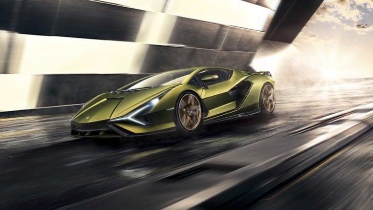 Lamborghini Sián, l'ibrida stupisce già