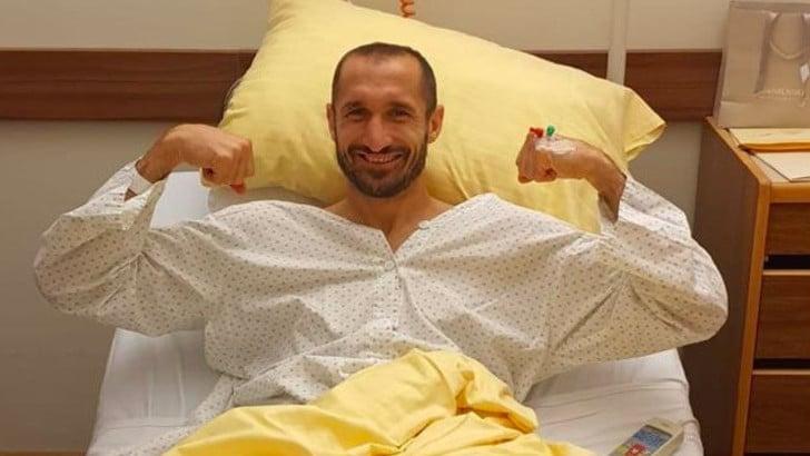Juve, Chiellini operato: ecco i tempi di recupero