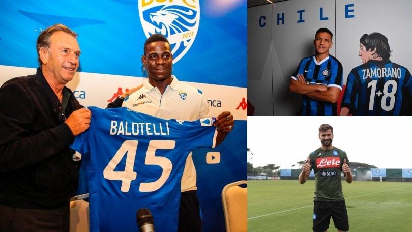 Da Balotelli a Llorente, ecco chi è tornato in Serie A dopo un'esperienza all'estero