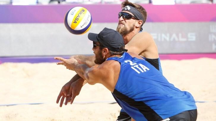 Rome Beach Finals: le coppie azzurre maschili ko nelle qualificazioni