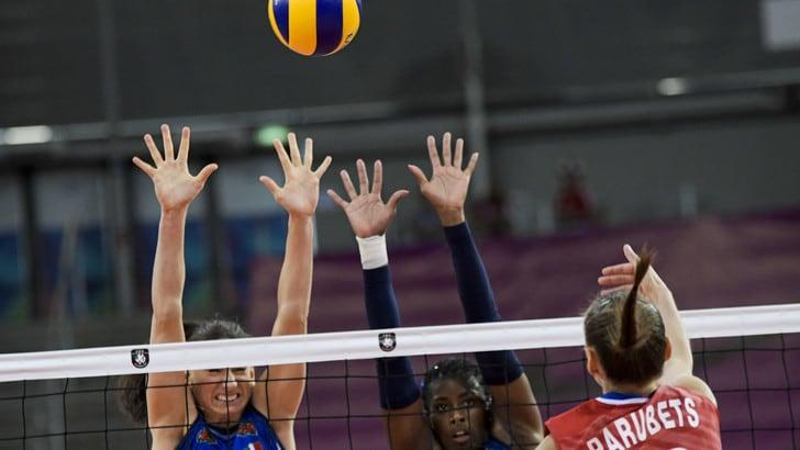 Europei Femminili: l'Italia batte la Russia e vola in semifinale