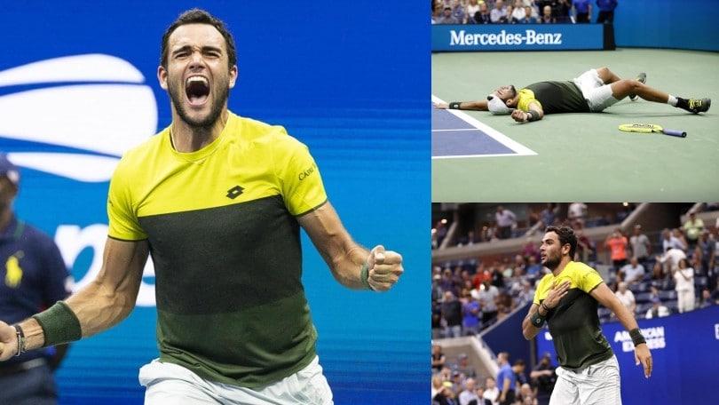Berrettini nella storia, è in semifinale degli Us Open