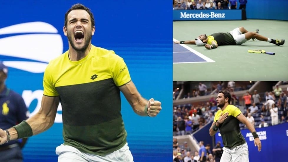 Il tennista azzurro ha avuto la meglio su Monfils dopo una battaglia durata quasi quattro ore (3-6; 6-3; 6-2; 3-6; 7-6). Sono serviti cinque match point per alzare le braccia al cielo ed esultare. L'ultimo ostacolo prima della finale sarà il numero due al mondo Rafa Nadal