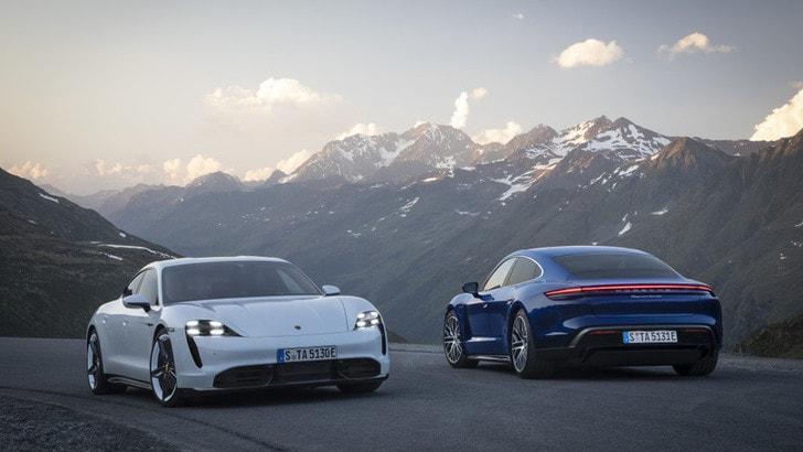 Porsche Taycan, il debutto dell'elettrica