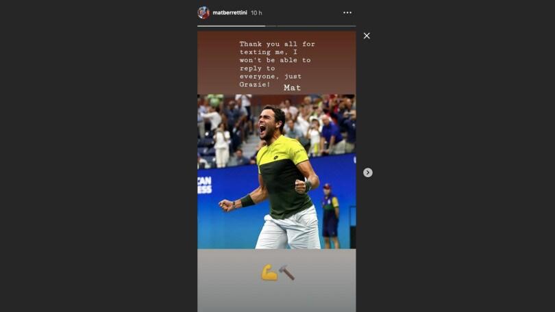 """Us Open, Nadal su Berrettini: """" Sta crescendo e picchia forte"""""""