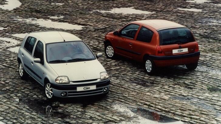 Renault Clio, citycar per eccellenza: la seconda serie