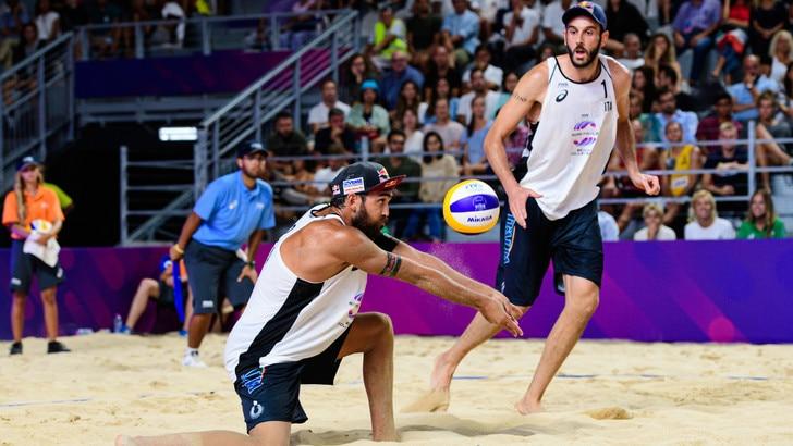 Roma Beach Finals: Lupo-Nicolai ko nella seconda della Pool