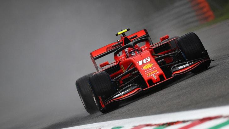 Gp d'Italia, Leclerc svetta dopo le prime libere