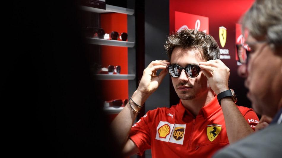 Formula 1: Leclerc e Vettel indossano la nuova collezione Ray-Ban e Scuderia Ferrari