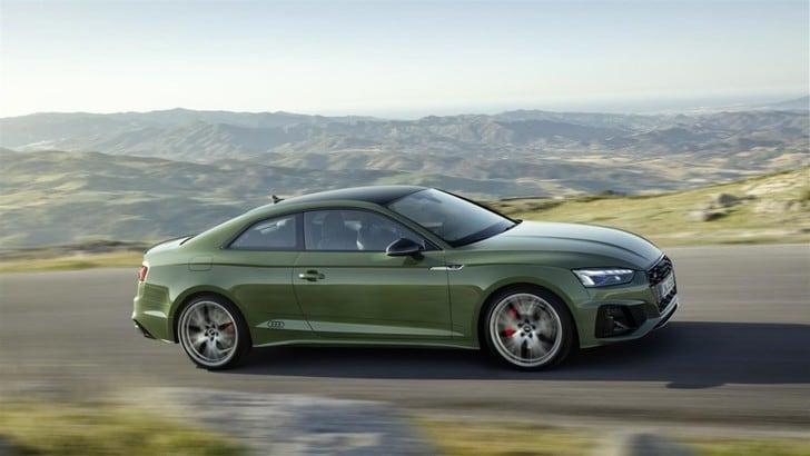 Audi A5 restyling, Francoforte svela le novità