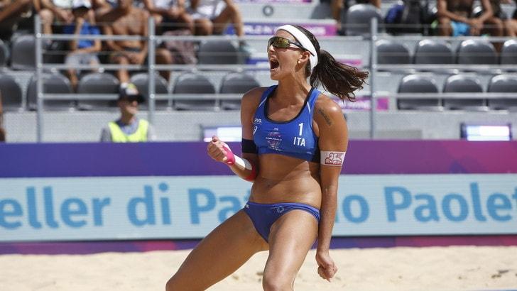 Roma Beach Finals: impresa Carambula-Rossi, bene Menegatti-Orsi Toth