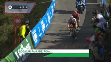 Vuelta - Dominio sloveno, Pogacar e Roglic stroncano tutti