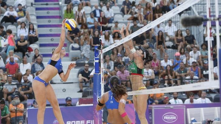 Roma Beach Finals: le coppie azzurre si fermano agli ottavi