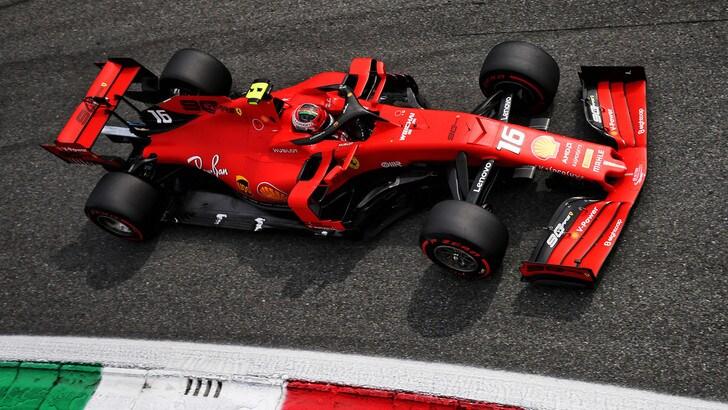 Gp d'Italia: pole per Leclerc, Vettel è quarto