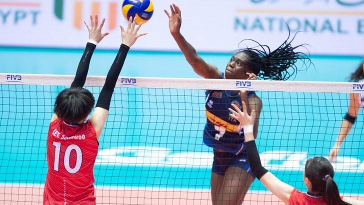 Mondiali U 18 Femminili: Italia bis, battuta la Corea del Sud