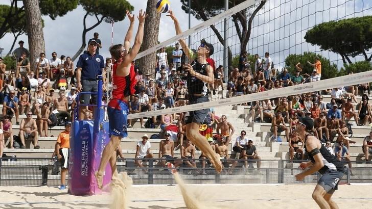Rome Beach Finals: in campo per le semifinali