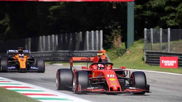 Gp d'Italia, pole per Leclerc: griglia di partenza e diretta TV