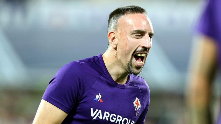 Fiorentina, Ribery lancia la sfida alla Juve da titolare