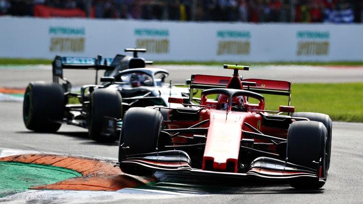 Gp d'Italia: trionfo Ferrari, Leclerc conquista Monza